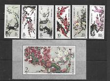 CHINA - PRC - 1985 FLOWERS