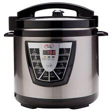 Power Cooker Plus 6-Quart Stainless Steel Pressure Cooker