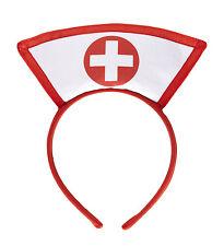 Widmann  Krankenschwester Haarreif mit Kreuz Verkleidungsset Fasching Karneval