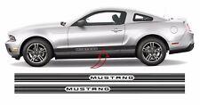 Ford Mustang Schriftzug Dekor Seitenstreifen Auto Aufkleber SET #2