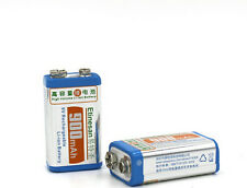 2 X 900mah ETINESAN  li-ion lithium 9volt rechargeable battery for tester