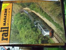 10µ Revue Rail Magazine n°76 Rabattements de fumée Le Morvan Lyon Part Dieu TEE