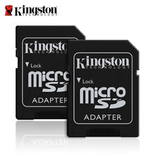 Kingston microSD to SD Card Adapter SDHC SDXC【2 al precio de uno】