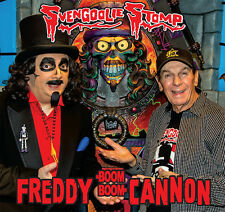 "SVENGOOLIE STOMP Freddy Cannon 2016 picture sleeve orange vinyl 7"" NEW Halloween"