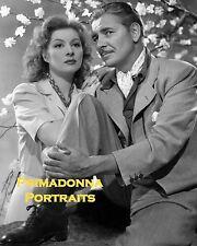"GREER GARSON & RONALD COLMAN 8x10 Lab Photo 1942 ""RANDOM HARVEST"" Portrait"