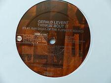 "MAXI 12"" GERALD LEVERT Thinkin bout it Feat RAH DIGGA FLIPMODE SQUAD ED6110 PROM"