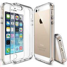 Pour Iphone 5 5S Coque Gel 360 avant + Arrière Protection INTEGRAL Transparent