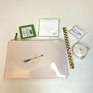 Kate Spade New York Two Hearts Bridal Pencil Pouch Set Of 6 New!!!