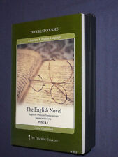 Teaching Co Great Courses  CDs             THE ENGLISH NOVEL     new & sealed