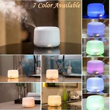 Ultrasonic Aroma Essential Oil Colorful Diffuser Humidifier 300ml Hot Xmas Gift