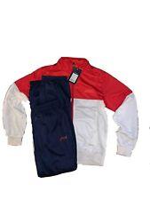 Asics T215Z5.2650 Damen Trainingsanzug Suit Luna Lady Rot//Blau Größe M