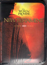 NEW Sealed AUDIO BIBLE 20 CDs! NKJV Word of Promise DRAMATIZED New Test. RTL.$50