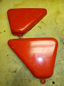 Norton Commando MK III Roadster side covers Left & Right