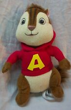"Alvin and the Chipmunks 2011 ALVIN 8"" Plush STUFFED ANIMAL Toy"
