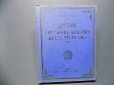 LECTURE DES CARTES ANGLAISES ET DES ETATS-UNIS P. Pollacchi 1908 Militaria