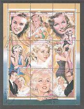 Sahara Occidental Marilyn Monroe Cancelled to order large mini sheet