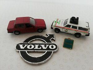Job Lot Of Automobilia Volvo 245 DL 760 Matchbox Corgi Car Emblem  Lapel Pin