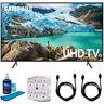 "Samsung 50"" RU7100 LED Smart 4K UHD TV 2019 Model with Cleaning Bundle"