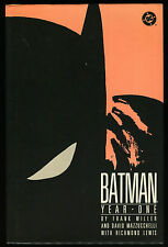 Batman Year One Hardcover Rare HC Frank Miller Dark Knight DC Mazzucchelli art 1