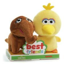 Sesame Street Big Bird and Mr. Snuffleupagus 4 Inch BFF Plush Set