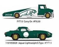 Hot Wheels 2019 Team Transport Jaguar E-Type Lightweight & Carry on 1/64 Diecast