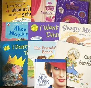 Joblot Of 10 Childrens Story Books + Disney Story Cd. All In Excellent Condition