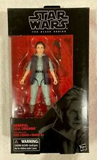"Hasbro STAR WARS The Black Series 6"" inch GENERAL LEIA ORGANA Action Figure"