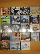 DVD (Filme) und CD (Musik, Hörspiele) Sammlung, hauptsächlich für Kinder