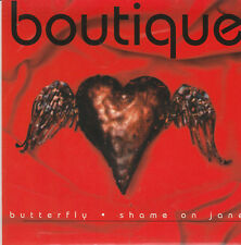 """Boutique-Butterfly/Shame on Jane 7"""" Single Trade 2 1995"""