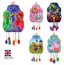 Kids CHARACTER PINATA Birthday Party Loot Toys Bag Favors Filler 33 x 46 cm UK