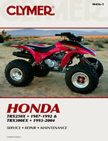 HONDA TRX 300EX 250X REPAIR,SERVICE,OWNERS,SHOP MANUAL BOOK M456-4,