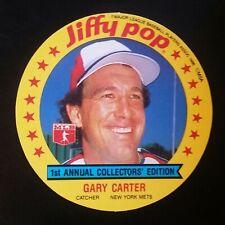 1986 MSA Jiffy Pop Discs Gary Carter - Mets Oddball - 10+ Items Ship FREE!