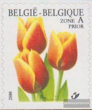 Bélgica 2958Du nuevo con goma original 2000 flores