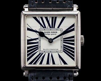Roger Dubuis G40 57 0 Golden Square Automatic BOX + PAPERS