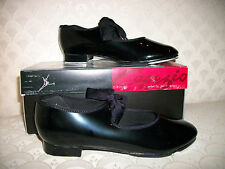 Capezio Tap Shoe Tyette Dance Women Black Patent, Tan, Pink, White NIB 625