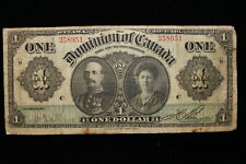 1911 Dominion of Canada. ($1) One Dollar. (#1)