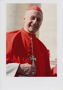 Original signiertes Foto Kurienkardinal Roger Cardinal Etchegaray †2019