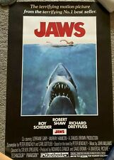 New listing Jaws (1975) Movie Poster 24x36