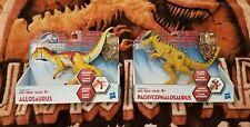 Jurassic World Allosaurus and Pachycephalosaurus Bashers and Biters Hasbro