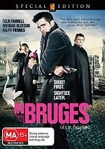 In Bruges * NEW DVD * Colin Farrell Ralph Fiennes (Region 4 Australia)