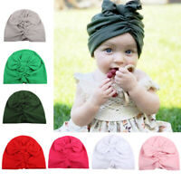 elastische mädchen haarband blume stirnband bowknot turban headwrap baby - hüte