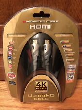 Monster 4K HDR Ultra HD Gold 60Hz 21.0Gbps 6ft HDMI Cable - Premium HDMI - NEW