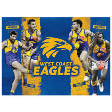 1000pc AFL West Coast Eagles 4 Player Licensing Essentials