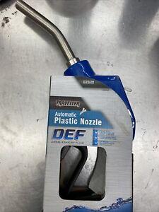 "Traveller Automatic DEF Diesel Exhaust Fluid Plastic Nozzle ""NEW"""