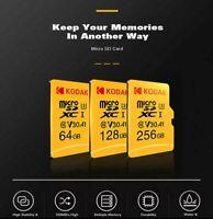 Tarjeta de memoria micro SD Kodak 32 GB,64 GB,128 GB,256 GB clase10 Velocidad U3