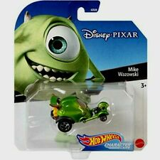 Hot Wheels DISNEY PIXAR Character Cars - MIKE WAZOWSKI Monsters Inc. Car Mattel