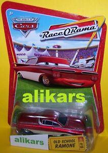R - OLD SCHOOL RAMONE - #18 Race O Rama Collection ROR series Disney Cars auto
