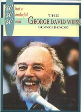 George David Weiss sheet music songbook What A Wonderful World Mr Wonderful