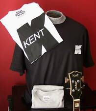 **NEW VINTAGE** KENT GUITAR T-SHIRT SIZE S - XL