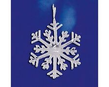Snow Holiday Charm 925 Italy New Sterling Silver Snowflake Pendant Winter Flake
